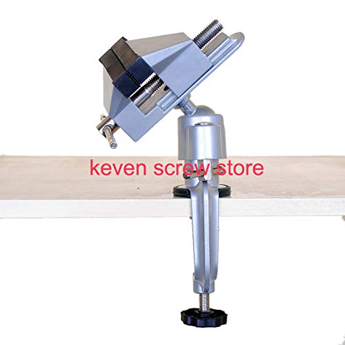 1 piece 1pcs 8003 Units Mini Precise Vise table vise Universal Aluminum Alloy 360 degree rotating milling machine bench vise clamp wood
