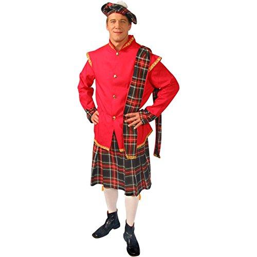 Adult Scottish Kilt Costume