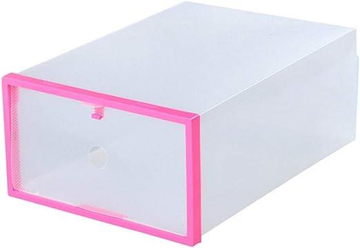 HANYF Caja De Plástico para Guardar Zapatos, Tipo 10PCS Plástico ...