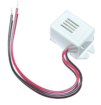 Amazon.com: Mini 12 VDC Eléctrico Zumbador: Industrial ...