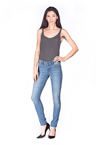 light blue colored jeans - 1