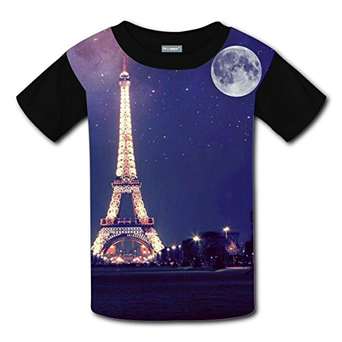 [World Famous Build Kids 3D Graphic Printed Short Sleeve T-shirts Boys] (Famous Couples Costumes)
