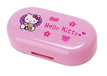 43cf4d024 Image Unavailable. Image not available for. Color: Hello Kitty Soft Contact  Lens Case: Pink