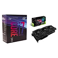 Intel Core i7-8700K Desktop Processor 6 Cores up to 4.7GHz  with ASUS GeForce RTX 2080 O8G ROG STRIX OC Type-C graphics card