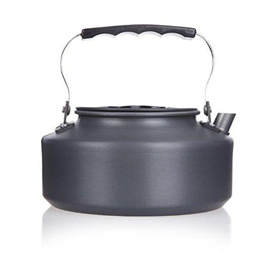 Tentock Camping Portable Kettle with Folding Handle Mini Tea Pot Coffee Pot 1.1L/1.6L(1.6L)