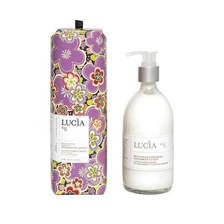 (Lucia Hand and Body Lotion, Wild Ginger and Fig, 10.1 Ounce)