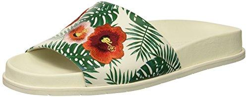Cole verde Sandalias diseño New para bordada xenia bordado con de Kenneth mujer palmera York de OdqTfOxH