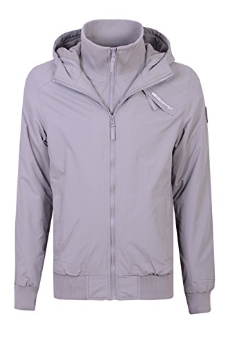 Crosshatch - Chaqueta - para hombre Snapton - Cloud Burst - Grey