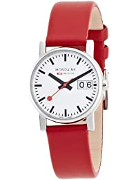 Women's A669.30305.11SBC Ladies Big Date Leather Band Watch