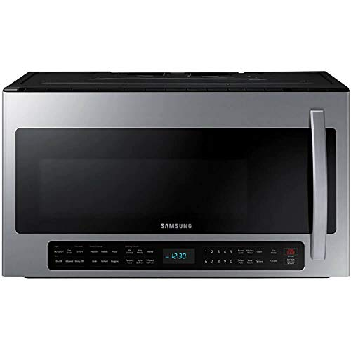 Samsung 2.1 Cu. Ft. Fingerprint Resistant Stainless Steel Over The Range Microwave