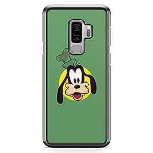 Loud Universe Goofy Face Samsung S9 Plus Case Goofie Face Green Samsung S9 Plus Cover with Transparent Edges