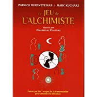 """Coffret Le jeu de l'alchimiste : Contient : 1 livre, 49 cartes en couleurs, 56 cartes """"cadeau"""""""
