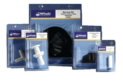 Whale AK3714 Gusher 10 Manual Pump Nitrile Parts for Oil and Diesel Service ()