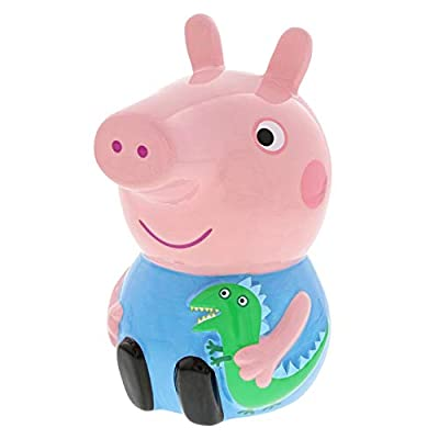 Peppa Pig Collection A29709 George Pig Ceramic Money Bank: Home & Kitchen