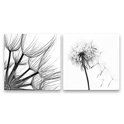 Stunning Piece, Professional Creation, 2 Panel Line Draw Dandeli Painting Wall Decor for Living Room Wooden Framed x 2 Panels
