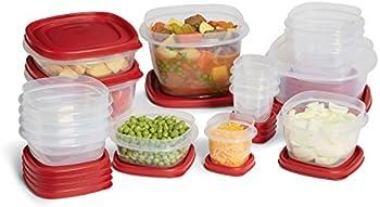 Rubbermaid 34-Pc. Plastic Food Storage Set