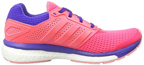 adidas Supernova Glide Boost 7, Women's Running Shoes Red - Rot (Boo Flared/Fla)