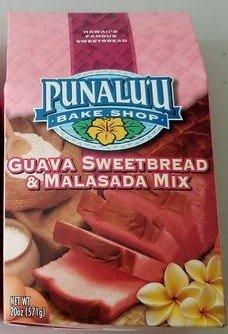 - Punalu'u Bake Shop's Hawaiian Guava Sweetbread and Malasada (Donuts) Mix