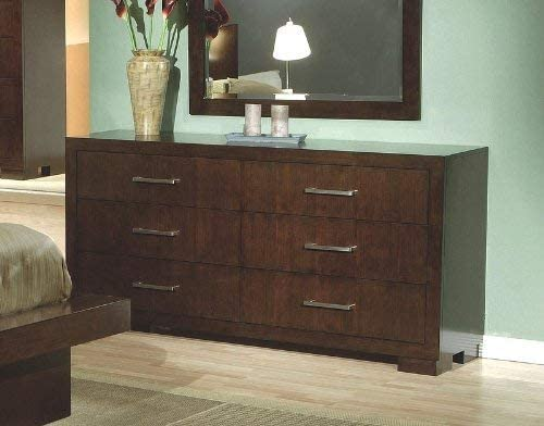 home, kitchen, furniture, bedroom furniture,  dressers 5 picture Jessica 6-Drawer Dresser Cappuccino promotion