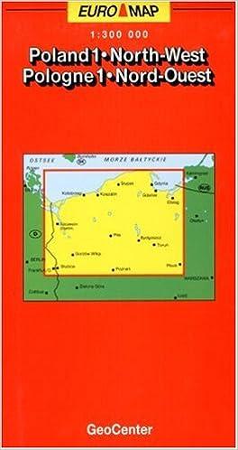 Poland Map NorthWest Sheet 1 GeoCenter Euro Map Amazoncouk