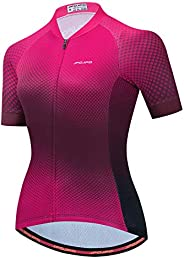 Weimostar Women Cycling Jersey Short Sleeve Pro Team Bicycle Clothing Summer Youth MTB Bike Shirt Top