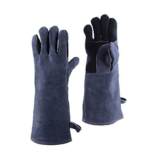 DRAGONN Premium Qualität Hitzebeständig Grillhandschuhe BBQ Handschuhe Ofenhandschuhe Backhandschuhe
