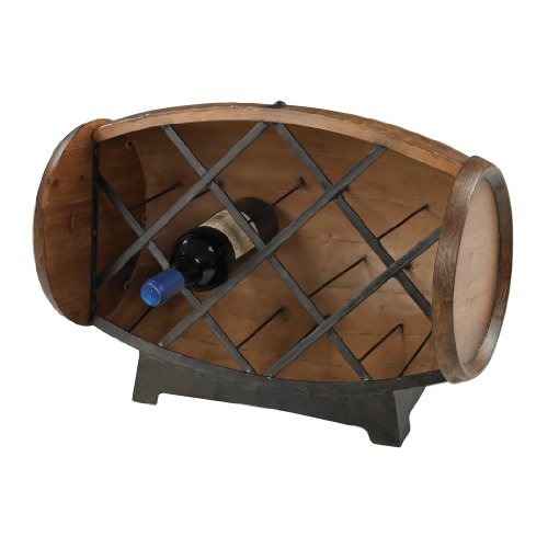 Sterling Industries 51-10094 Half Barrel Wine Rack