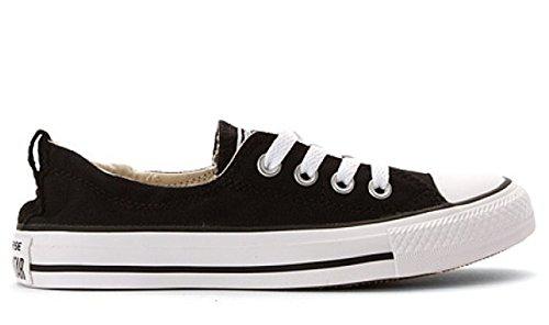 Converse Women's Chuck Taylor Shoreline Slip Casual Shoe, Black- Medium / 9 B(M) US