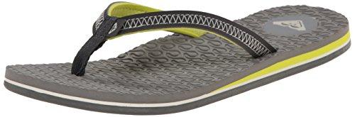 Roxy Women's Lava Flip Flop, Light Grey, 7 M US