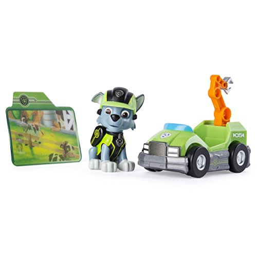 (Paw Patrol Mission Paw - Rocky's Repair Kart - Figure and)