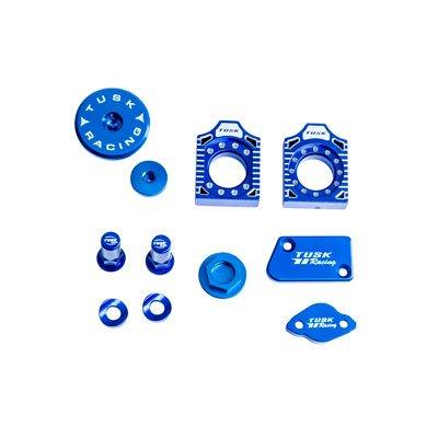 Billet Bling Kit Blue for Yamaha WR450F 2016-2018 Tusk Racing