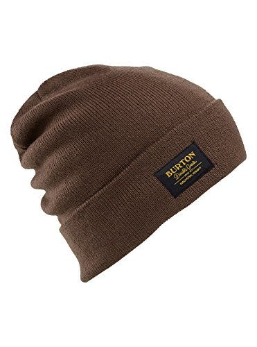 Burton Kactusbunch Tall Beanie, Chestnut, One (Fold Down Earflaps)