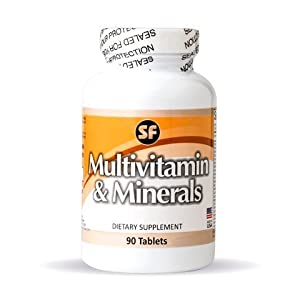 Multivitamin and Minerals 1000 mg