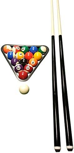 John West billar Set para principiantes – Bolas + Triángulo + 2 ...