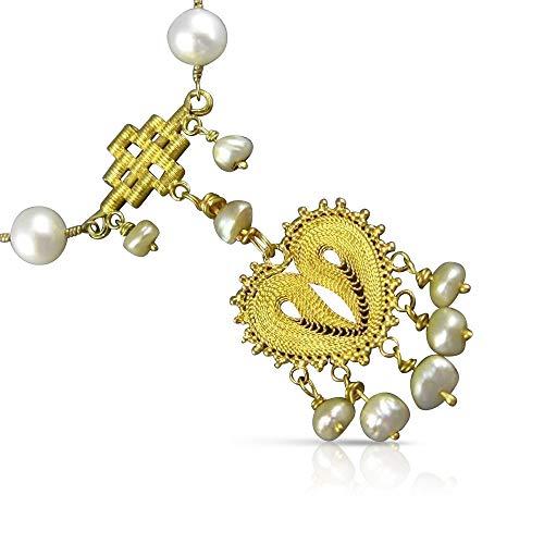 Milano Jewelers Large Tiffany & CO. 10.19CT Diamond 18K Gold & Platinum 3D Necklace #2581 ()