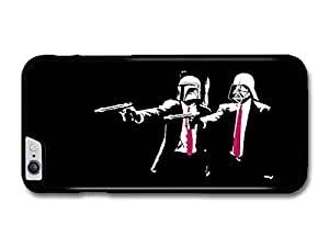 Pulp Fiction Star Wars John Travolta Samuel Jackson Funny Illustration case for iPhone 6 Plus by icecream design