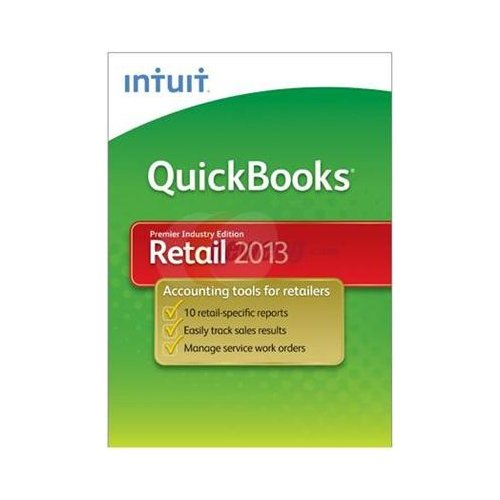 QuickBooks Retail 2013 Premier Industry Edition (Quickbooks Premier 2013 Software)