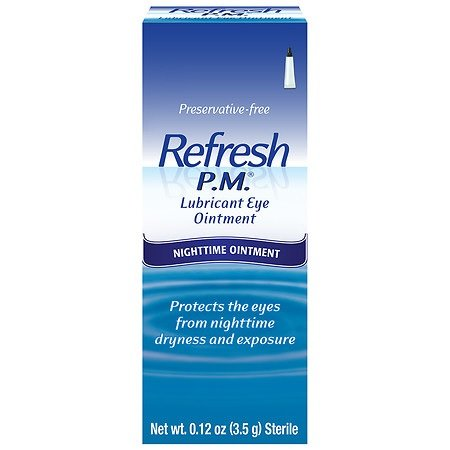 (Refresh P.M (.12 oz.) Opthalmic Oint)