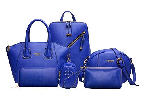 blu per grande giallo tracolla Yan Borsa a donna Show 00qFH8