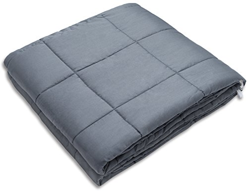 Amy Garden Weighted Blanket for Anxiety, ADHD, Autism, Insomnia or Stress - Premium a number of Weighted Blankets for wonderful Sleep (48