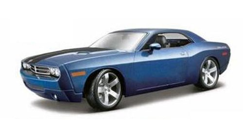 (2006 Dodge Challenger Concept Blue 1/18 by Maisto)