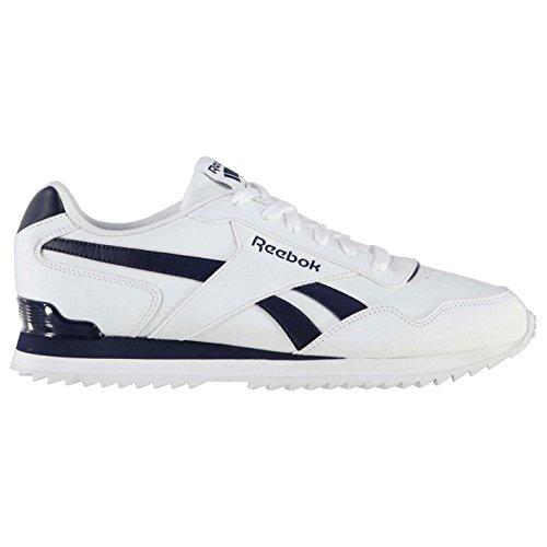 Herren White Ripple Sneaker Royal Navy Glide Clip Reebok qTxYZOnI