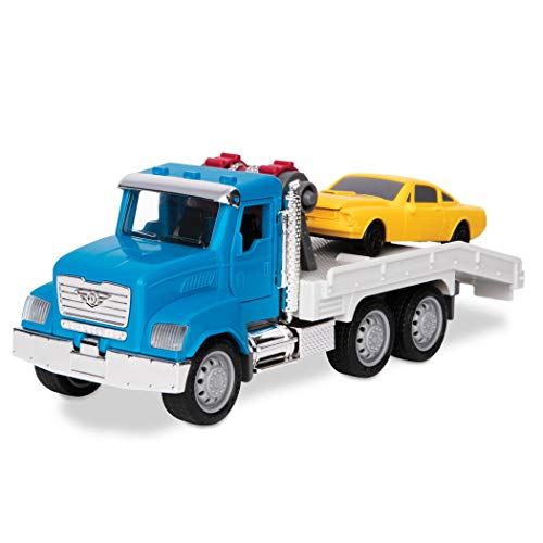 DRIVEN by Battat - Micro Tow Truck - Toy Tow Truck with Toy Car for Kids Aged 4 Years and Up (2pc) (Tow Truck Diecast)
