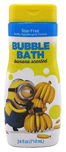 Minions Bubble Bath Banana Scented 24 Ounce (709ml) (2 Pack)