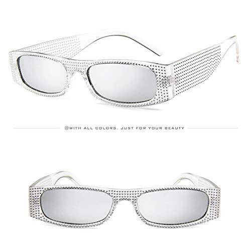 Small Party Eyewear Mercury Wild White Sunglasses Eyeglasses Transparent Sun for Frame Unisex Shopping Frame white Holiday Lens Decorative Travel Luxury Glasses 648HI1