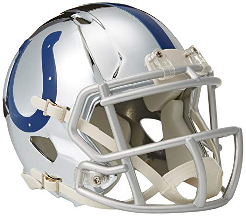 - Riddell Chrome Alternate NFL Speed Authentic Mini Size Helmet Indianapolis Colts