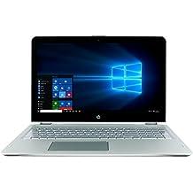 "CUK HP Envy x360 15t Touchscreen Convertible (Intel i7-8550U, 16GB DDR4 RAM, 256GB NVMe SSD + 1TB HDD) - Best 15.6"" Full HD, Windows 10 Notebook Laptop Computer"