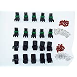 CNKF 10 Sets GM Haltech MAP 2 pin way male and female Weatherpack waterproof auto Connector Includes Terminals and Seals 12010973 12015792