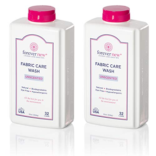 Forever New Granular Fabric Care Wash Unscented (64oz (2pack) Natural & Organic Laundry Detergent