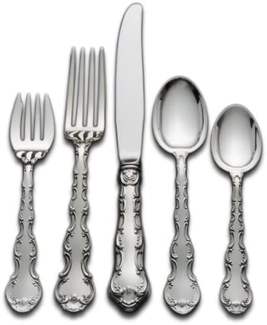 Place Size No Mono Gorham Strasbourg Sterling Silver 4 Piece Place Setting